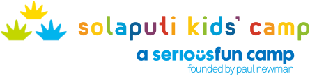 Solaputi Kids' Camp and a seriousfun camp logo
